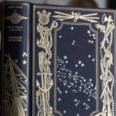 Libros de segunda mano: JULIO VERNE. DE LA TIERRA A LA LUNA. ALREDEDOR DE LA LUNA. Lote 107525248