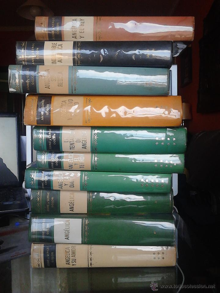 ANGÉLICA 10 TOMOS (Libros de Segunda Mano (posteriores a 1936) - Literatura - Narrativa - Otros)