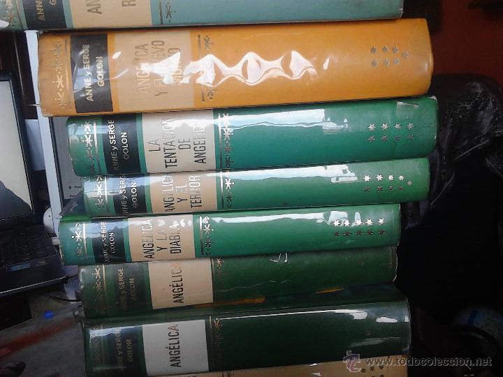 Libros de segunda mano: ANGÉLICA 10 TOMOS - Foto 4 - 51487134