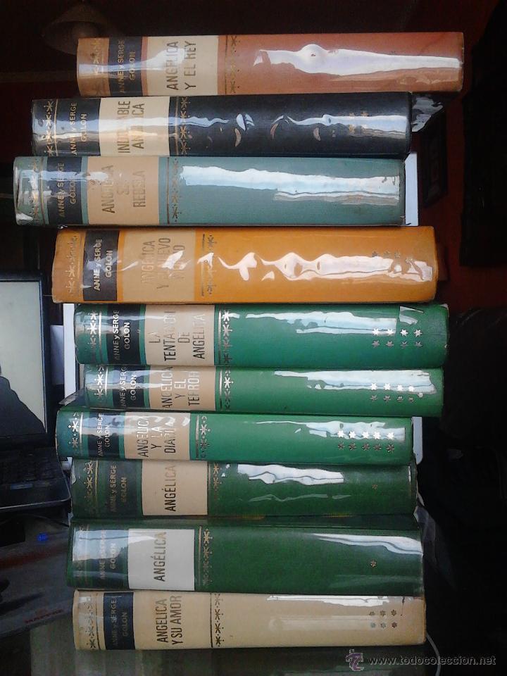 Libros de segunda mano: ANGÉLICA 10 TOMOS - Foto 6 - 51487134