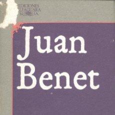 Libros de segunda mano: JUAN BENET. HERRUMBROSAS LANZAS. LIBROS I-VI. MADRID, 1983.. Lote 51556937
