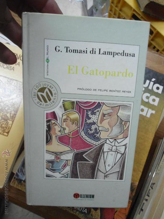 LIBRO G. TOMASI DI LAMPEDUSA 1999 ED. MILENIUM L-9484 (Libros de Segunda Mano (posteriores a 1936) - Literatura - Narrativa - Otros)