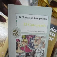 Libros de segunda mano: LIBRO G. TOMASI DI LAMPEDUSA 1999 ED. MILENIUM L-9484. Lote 51689488