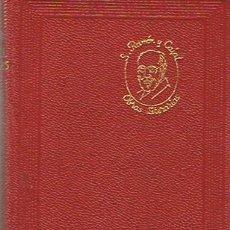 Libros de segunda mano: OBRAS LITERARIAS COMPLETAS SANTIAGO RAMÓN Y CAJAL. Lote 51712446