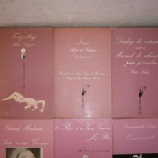 Libros de segunda mano: LUIS BERLANGA CLOTET TUSQUETS PIERRE LOUYS ALBERT ROUTISIE PEDRO SEMPERE EMMANUELLE ARSAN JOSEP BRAS. Lote 52301747