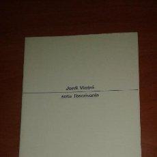 Libros de segunda mano: JORDI VINTRO - SOTA L' ESCRIVANIA. Lote 52413230