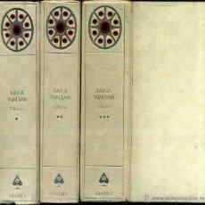 Libros de segunda mano: MIKA WALTARI : OBRAS (MARIN, 1958 - 70) TRES TOMOS. Lote 52485528