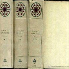 Libros de segunda mano: FRANK G. SLAUGHTER : OBRAS (MARIN, 1959 - 70) TRES TOMOS. Lote 52485622