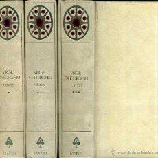 Libros de segunda mano: VIRGIL GHEORGHIU : OBRAS (MARIN, 1960 - 69) TRES TOMOS. Lote 52485781