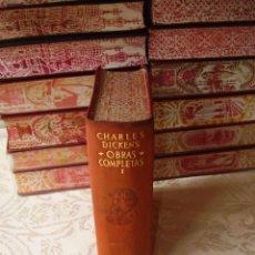 Libros de segunda mano: OBRAS COMPLETAS . VOL. I . AUTOR : DICKENS, CHARLES . Lote 52567451