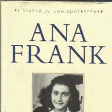Libros de segunda mano: EL DIARIO DE UNA ADOLESCENTE. ANNA FRANK. PLAZA & JANES. BARCELONA. 1999. Lote 52626433