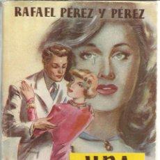 Libros de segunda mano: UNA FIERA. RAFAEL PÉREZ Y PÉREZ. EDITORIAL JUVENTUD. BARCELONA. 1953. Lote 52626726