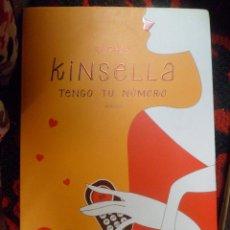 Libros de segunda mano: TENGO TU NÚMERO. SOPHIE KINSELLA. Lote 52628891