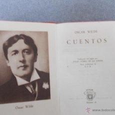 Libros de segunda mano: CRISOLITO DE AGUILAR. CUENTOS DE OSCAR WILDE. Lote 53105465