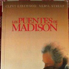 Libros de segunda mano: LIBRO LOS PUENTES DE MADISON. Lote 53115637