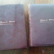 Libros de segunda mano: AMADO NERVO, OBRAS COMPLETAS (2 TOMOS), AGUILAR 1951-1952. Lote 53307403