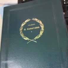 Libros de segunda mano: EL RAMAYANA TOMO 1 VALMIKI EDIT CLASICOS BERGUA AÑO 1963. Lote 53316481