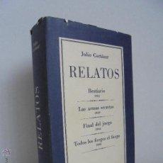 Libros de segunda mano: JULIO CORTAZAR. RELATOS. EDITORIAL SUDAMERICANA 15 DE MAYO DE 1970 PRIMERA EDICION. VER FOTOGRAFIAS.. Lote 53354977