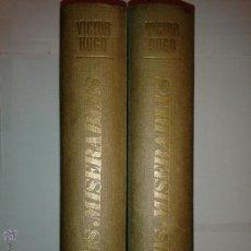 Libros de segunda mano: LOS MISERABLES DOS TOMOS 1967 VICTOR HUGO 1 º EDICIÓN EDICIONES VÉRTICE . Lote 53418505