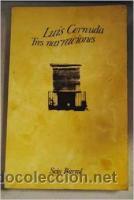 TRES NARRACIONES (LUIS CERNUDA) (Libros de Segunda Mano (posteriores a 1936) - Literatura - Narrativa - Otros)