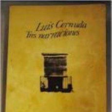 Libros de segunda mano: TRES NARRACIONES (LUIS CERNUDA). Lote 53743695