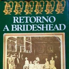 Libros de segunda mano - Retorno a Brideshead. Evelyn Waugh - 53776515