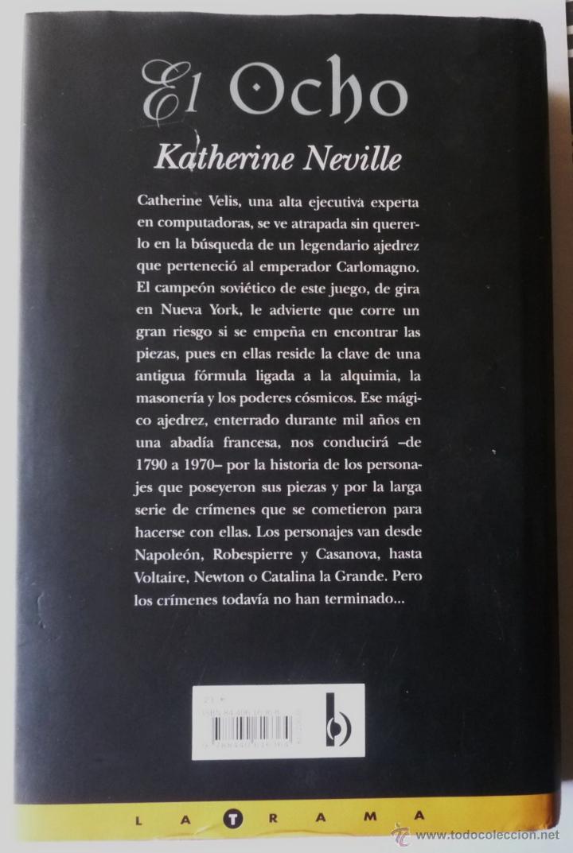 Libros de segunda mano: EL OCHO. DE KATHERINE NEVILLE - Foto 2 - 53885223