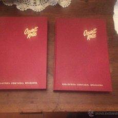 Libros de segunda mano: ANTIGUO 2 LIBRO TU MARIDO ESE DESCONOCIDO Y TU MUJER ESA DESCONOCIDA ESCRITO POR OSWALT KOLLE. Lote 53995923