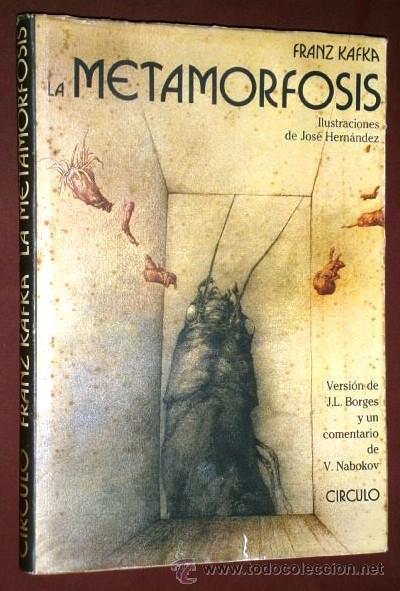LA METAMORFOSIS POR FRANZ KAFKA DE CÍRCULO DE LECTORES EN BARCELONA 1986 (Libros de Segunda Mano (posteriores a 1936) - Literatura - Narrativa - Otros)