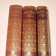 Libros de segunda mano: LOUIS BROMFIELD. OBRAS COMPLETAS. TOMOS I, II Y III. TRES TOMOS. RM72949. . Lote 54097268