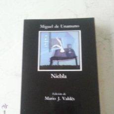 Libros de segunda mano: NIEBLA - MIGUEL DE UNAMUNO - EDICIONES CATEDRA . Lote 54250836