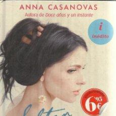 Libros de segunda mano: SALTAN AL VACÍO. ANNA CASANOVAS. EDICIONES B. BARCELONA. 2014. Lote 54367493