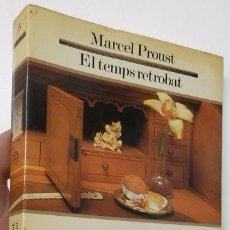 Libros de segunda mano: EL TEMPS RETROBAT - MARCEL PROUST. Lote 54516182