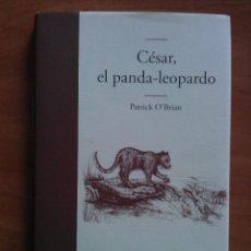 Libros de segunda mano: 2009 CÉSAR EL PANDA - LEOPARDO - PATRICK O ´BRIAN - ILUSTRADO. Lote 54527791