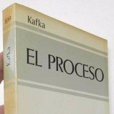 Libros de segunda mano: EL PROCESO - FRANZ KAFKA. Lote 226797625