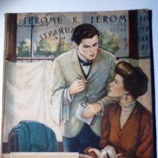 Libros de segunda mano: LAS EXPERIENCIAS DE ENRIQUE. 1946. JEROME K JEROME. TREAD. JAVIER DE ZENGOTITA. COL OASIS. 66. Lote 54845260