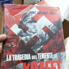 Livres d'occasion: LIBRO LA TRAGEDIA DEL TENIENTE KRAFFT HANS HELLMUT KIRST L-11185. Lote 54942615