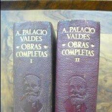 Libros de segunda mano: OBRAS COMPLETAS. ARMANDO PALACIO VALDÉS. 2 VOL. 1956 Y 1948. . Lote 54948720