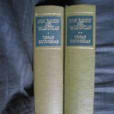 Libros de segunda mano: RAMON DEL VALLE INCLAN: OBRAS ESCOGIDAS II VOL.. Lote 55031052