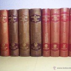 Libros de segunda mano: WENCESLAO FERNANDEZ FLOREZ (OBRA COMPLETA) 9 TOMOS - EDIT. AGUILAR 1945/1964. Lote 55035237