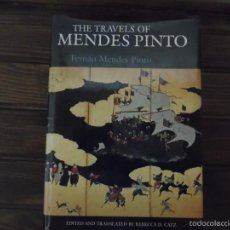Libros de segunda mano: THE TRAVELS OF MENDES PINTO. Lote 55146046