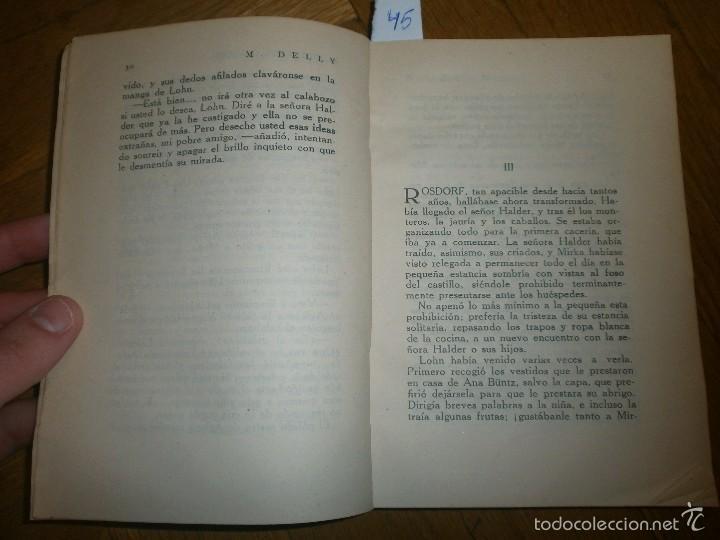 Libros de segunda mano: EL VIOLÍN DEL CÍNGARO- M. DELLY. PRIMERA EDICIÓN (SIN FECHA) EDITORIAL PUEYO - Foto 3 - 55368895
