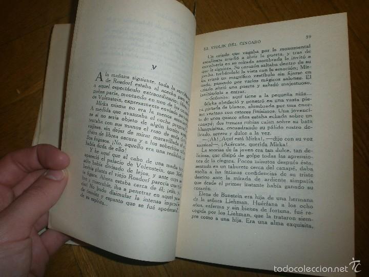 Libros de segunda mano: EL VIOLÍN DEL CÍNGARO- M. DELLY. PRIMERA EDICIÓN (SIN FECHA) EDITORIAL PUEYO - Foto 4 - 55368895