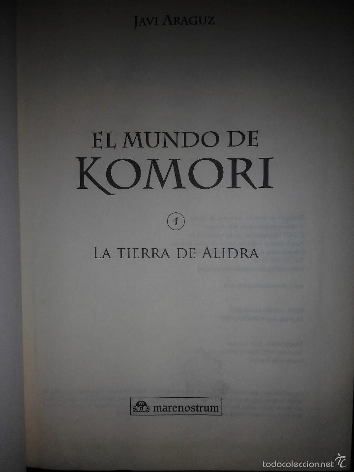 Libros de segunda mano: el mundo de komori la tierra de alidra marenostrum - Foto 2 - 71914378