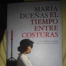 Libros de segunda mano: MARIA DUEÑAS EL TIEMPO ENTRE COTURAS NUEVO. Lote 55822188
