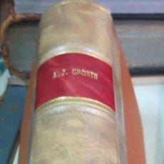 Libros de segunda mano: LA CIUDADELA A. J. CRONIN EDIT PLAZA& JANES AÑO 1962. Lote 56039665