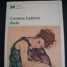 Libros de segunda mano: NADA. CARMEN LAFORET. DESTINO.. Lote 56128826