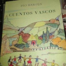 Libros de segunda mano: CUENTOS VASCOS PÍO BAROJA EDIT CARO RAGGIO AÑO 2011. Lote 56384941