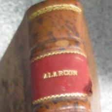 Livros em segunda mão: EL ESCANDALO D. PEDRO ANTONIO DE ALARCÓN AÑO 1943. Lote 56389780