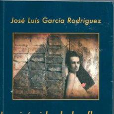 Libros de segunda mano: LA PIRÁMIDE DE LAS FLORES. CUATRO HISTORIAS DE POSGUERRA. DE JOSÉ LUÍS GARCÍA RODRÍGUEZ. Lote 56390283
